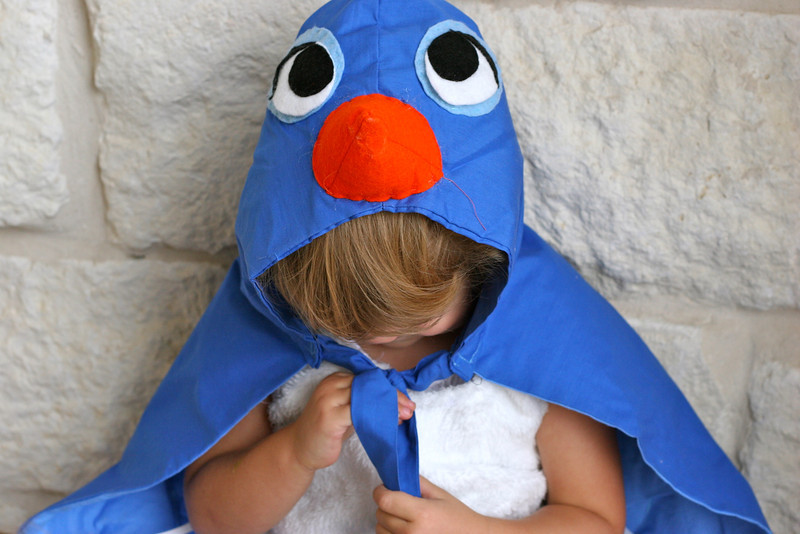 halloween for kids: bluebird costume tutorial